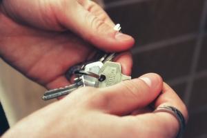 Symbolbild: Haustürschlüssel