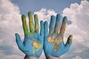 Symbolbild: Weltkarte