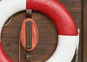 Symbolbild: Rettungsring