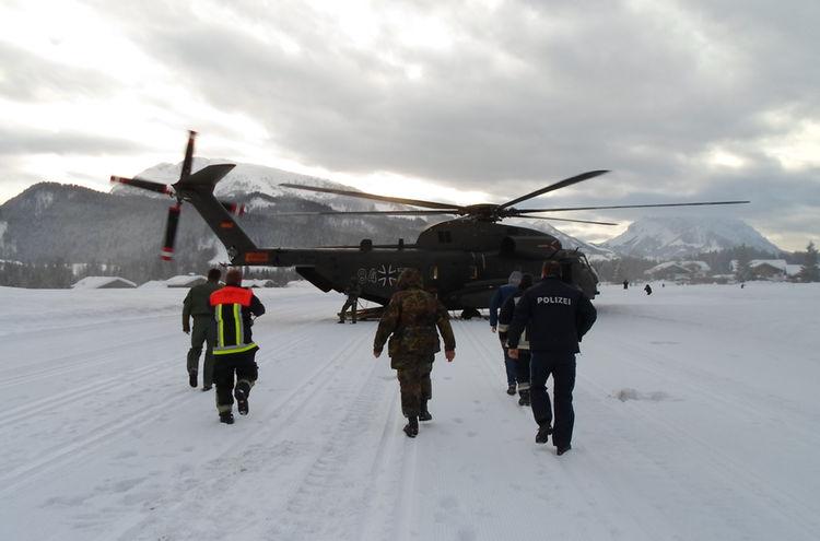 15012019 Erkundungsflug Bundeswehr Reit Im Winkl