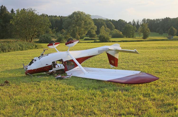 15072018 Notlandung Flugzeug Neusillersdorf 1