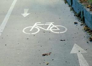 Symbolbild: Fahrradweg