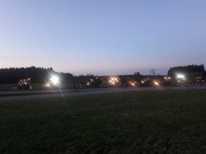 Region: Schlepper-Flashmob