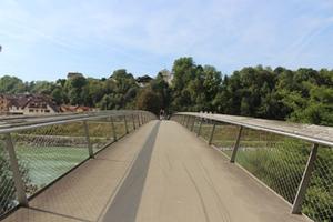 Laufen Europabrücke