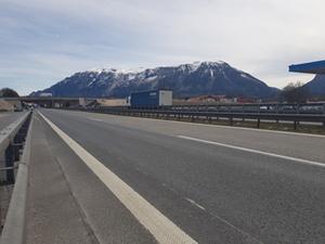 Autobahn Grenze Piding