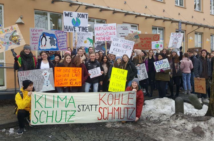 22022019 Fridays For Future Traunstein