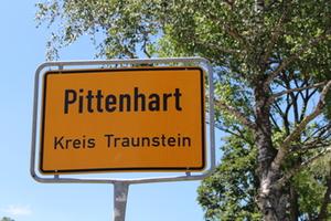 Ortsschild Pittenhart