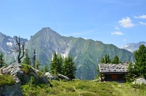 Symbolbild: Berghütte