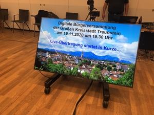 Digitale BÜrgerversammlung Traunstein