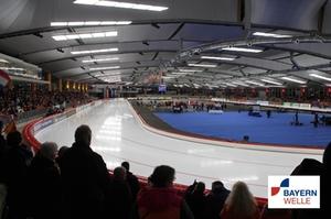 Inzell Max Aicher Arena Eisschnelllauf WM