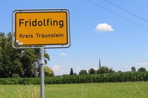 ortsschild fridolfing