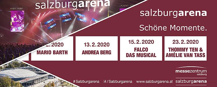 Montag ist Showtag! Banner Veranstaltungen Februar