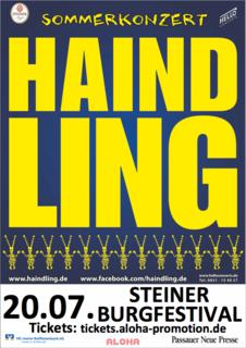 Gutscheinshop - Steiner Burgfestival - Haindling 20.07.19