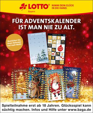 Lotto Adventskalender 2020 Bayern