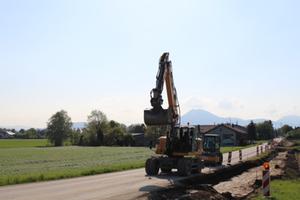 Baustelle Adelstetten