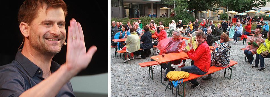 Michael Altinger Sommerbühne Nuts Traunstein 2020