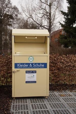 Altkleidercontainer