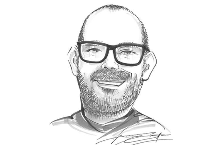 Andi Litzinger Karikatur