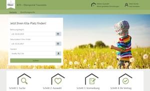 Onlineportal Kindertageseinrichtungen
