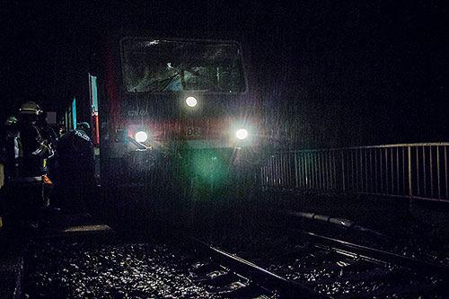 Bahn Unfall 12