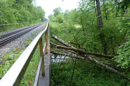 Bahn Unfall 15