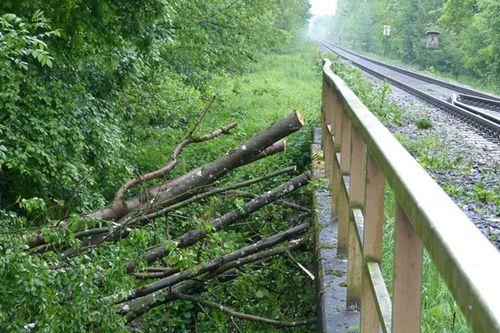 Bahn Unfall 17