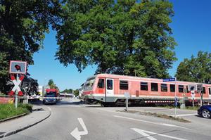 Bahnübergang TS Kotzinger Str.