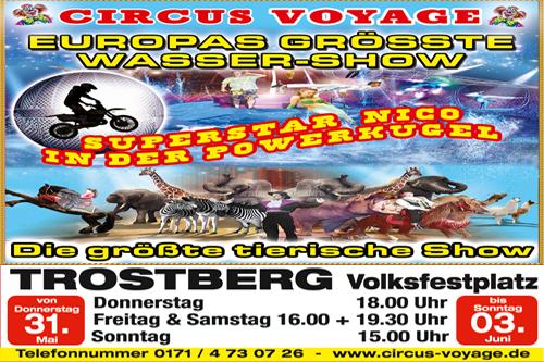 Banner Circus Trostberg