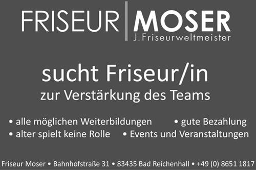 Banner Friseur Moser