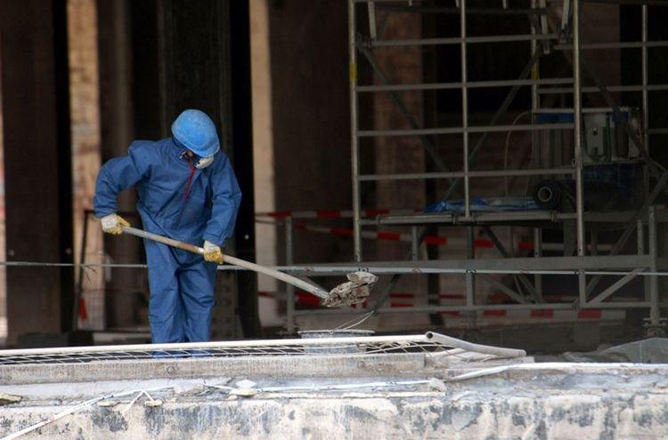 Bauarbeiten Asbest