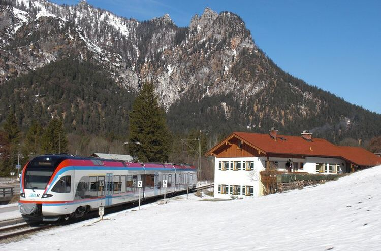 Berchtesgadener Land Bahn Blb Winter