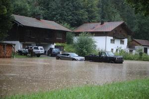 Überflutung Surberg