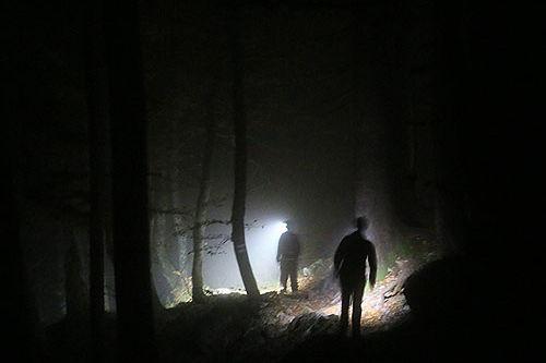 Berge Lichtschein 4