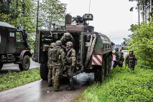 Bundeswehr Fahrzeug