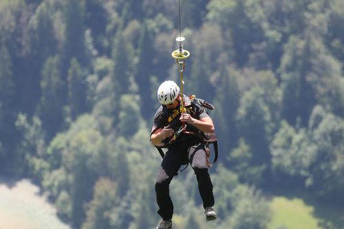 Bergunfall Schneizlreuth 2