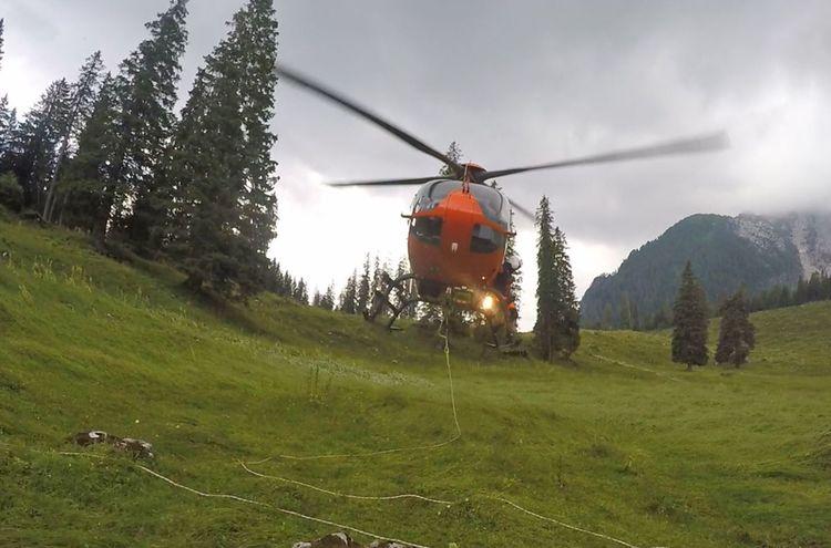 Bergwacht Hubschrauber