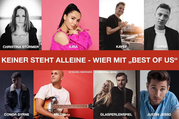 Best Of Us: Künstler WIER
