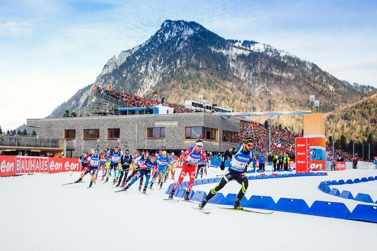 Biathlon Weltcup Ruhpolding 2021