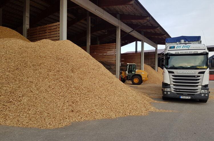 Biomassehof Achental