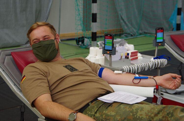 Blutspende Bundeswehr
