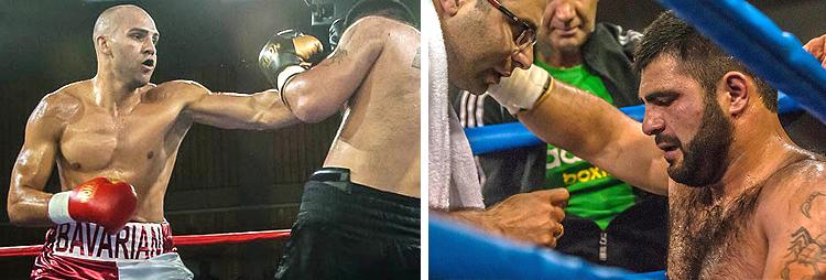 Boxkampf Serge Michel 2017 in Traunreut