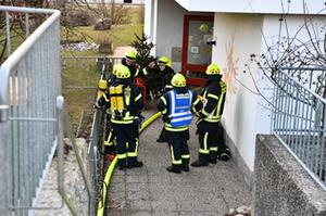 Rauchentwicklung Kindergarten Nußdorf