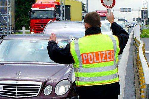 Bundespolizei Kontrolle Schwarzbach