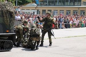 Bundeswehr Vorführung