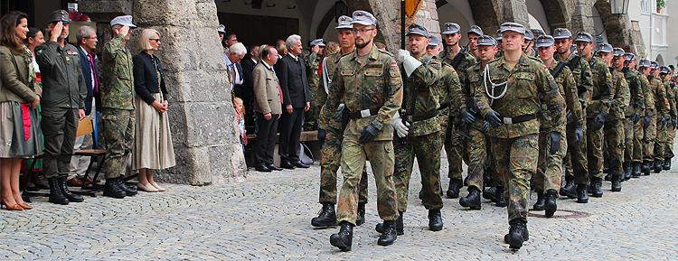 Tag der offenen Tür 2017 bei der Bundeswehr in Bischofswiesen Strub