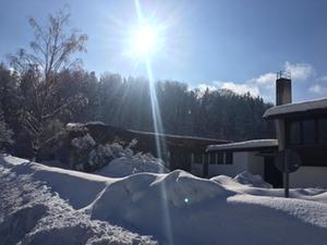 Chiemgauhalle Schnee