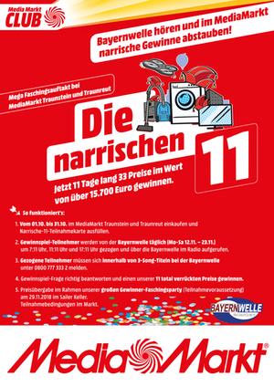 Die Narrischen 11 Media Markt Traunstein / Traunreut