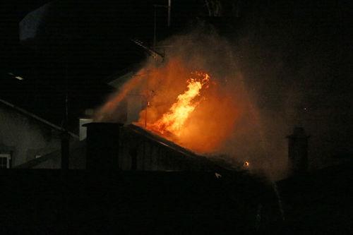 Dachstuhlbrand Rhall 2