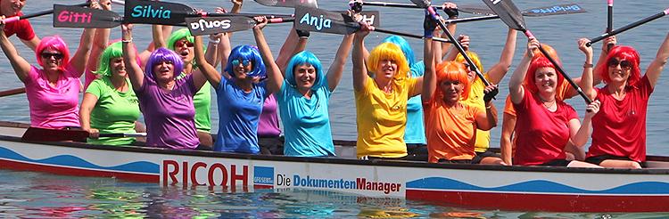 Drachenbootrennen Chiemsee Alpenland Cup 2017