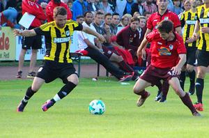 Fußball Bayernliga Derby SB Chiemgau vs SV Kirchanschöring 14 Juli 2017